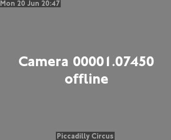 Webcam Londra Centro