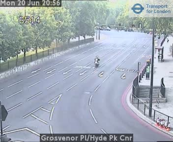Hyde Park Corner Webcam