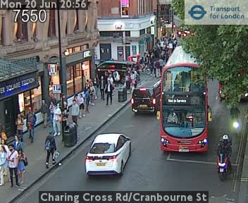 Webcam Leicester Square