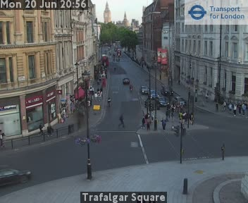 Webcam Trafalgar Square