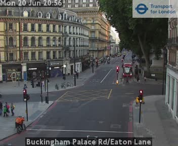 Webcam Victoria Station a Londra