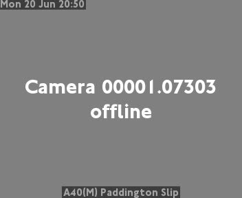 Webcam del Traffico nella zona di Paddington