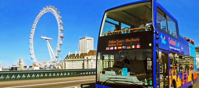 Golden Tour in Bus Londra