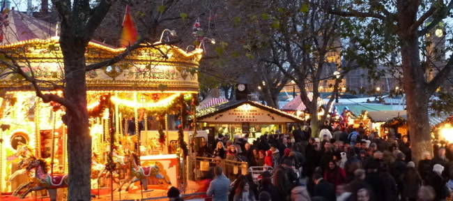 Southbank Centre Winter Festival e Mercatino