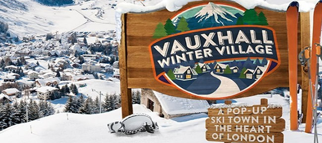 Vauxhall winter village