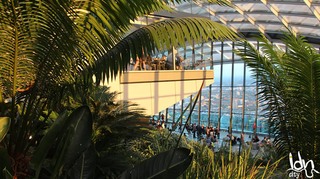 Fenchurch rooftop restaurant, Skygarden